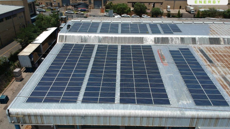 FMCG solar PV commercial  project 4