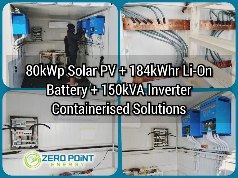 battery solar container