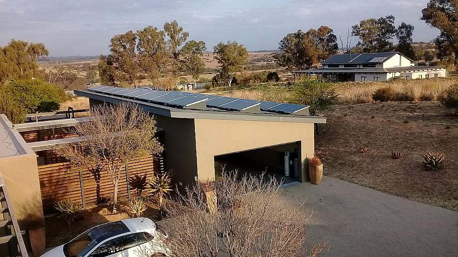 hybrid solar eco estate